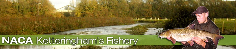 NACA Ketteringhams Fishery, barbel, chub and roach fishery