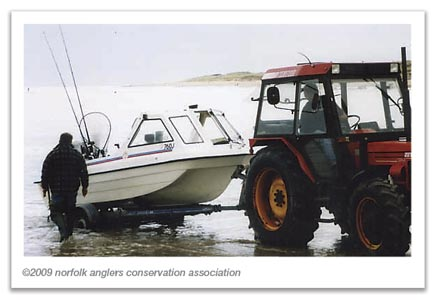My first boat for bass fishing off the Norfolk coast, a 15 foot Sea Hog Sea Jeep, was not really up to the job of tackling the North Sea